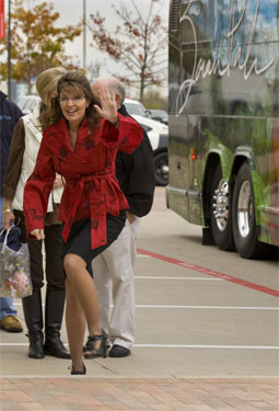 Short Skirt Sarah Palin